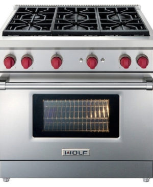 Range Mabe Recessed 30 6 Burners With Cast Iron Grill